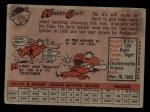1958 Topps #119  Harry Chiti  Back Thumbnail