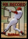 1999 Topps #220 AE  -  Mark McGwire Home Run 31 Front Thumbnail