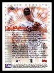 2000 Topps #238 D  -  Cal Ripken Magic Moments Back Thumbnail