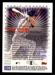 2000 Topps #239 A  -  Wade Boggs Magic Moments Back Thumbnail