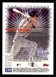 2000 Topps #239 B  -  Wade Boggs Magic Moments Back Thumbnail
