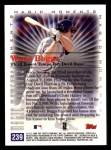 2000 Topps #239 E  -  Wade Boggs Magic Moments Back Thumbnail