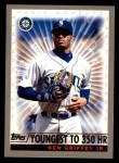 2000 Topps #475 A  -  Ken Griffey Jr. Magic Moments Front Thumbnail
