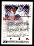 2000 Topps #475 D  -  Ken Griffey Jr. All-Star Magic Moments Back Thumbnail