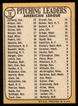 1968 Topps #10 ^COR^  -  Dean Chance / Jim Lonborg / Earl Wilson AL Pitching Leaders Back Thumbnail