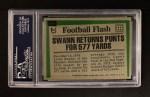 1975 Topps #459   -  Lynn Swann  Highlights Back Thumbnail