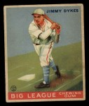 1933 Goudey #6  Jimmy Dykes  Front Thumbnail