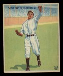 1933 Goudey #216  Lefty Gomez  Front Thumbnail