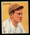 1933 Goudey #206  Gus Suhr  Front Thumbnail