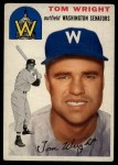 1954 Topps #140  Tom Wright  Front Thumbnail