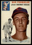1954 Topps #69  Clarence 'Bud' Podbielan  Front Thumbnail