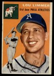 1954 Topps #232  Lou Limmer  Front Thumbnail