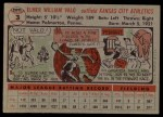 1956 Topps #3  Elmer Valo  Back Thumbnail