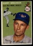 1954 Topps #203  Harry Brecheen  Front Thumbnail