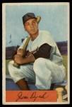 1954 Bowman #85 3B Jim Dyck  Front Thumbnail
