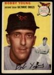 1954 Topps #8  Bob Young  Front Thumbnail