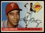 1955 Topps #114  Lou Ortiz  Front Thumbnail