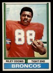 1974 Topps #89  Riley Odoms  Front Thumbnail