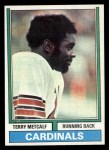 1974 Topps #444  Terry Metcalf  Front Thumbnail