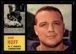 1962 Topps #110  Sam Huff  Front Thumbnail