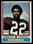 1974 Topps #64  Clarence Scott  Front Thumbnail