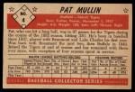 1953 Bowman B&W #4  Pat Mullin  Back Thumbnail
