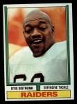 1974 Topps #194  Otis Sistrunk  Front Thumbnail