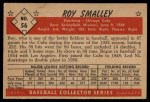 1953 Bowman B&W #56  Roy Smalley  Back Thumbnail
