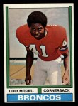 1974 Topps #519  Leroy Mitchell  Front Thumbnail