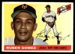1955 Topps #71  Ruben Gomez  Front Thumbnail