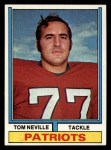 1974 Topps #77 ONE Tom Neville  Front Thumbnail