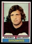1974 Topps #376  Bob Babich  Front Thumbnail