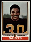 1974 Topps #392  Jess Phillips  Front Thumbnail