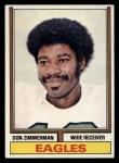 1974 Topps #379  Don Zimmerman  Front Thumbnail