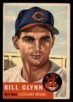 1953 Topps #171  Bill Glynn  Front Thumbnail