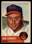 1953 Topps #33  Bob Kennedy  Front Thumbnail
