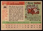 1955 Topps #88  Bob Skinner  Back Thumbnail