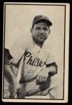 1953 Bowman B&W #14  Bill Nicholson  Front Thumbnail