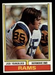 1974 Topps #509  Jack Youngblood  Front Thumbnail