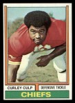 1974 Topps #433  Curley Culp  Front Thumbnail