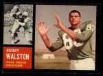 1962 Topps #119  Bob Walston  Front Thumbnail