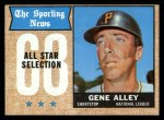 1968 Topps #368   -  Gene Alley All-Star Front Thumbnail