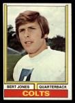 1974 Topps #524  Bert Jones  Front Thumbnail