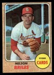 1968 Topps #540  Nelson Briles  Front Thumbnail
