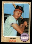1968 Topps #121  Jimmie Hall  Front Thumbnail