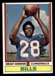 1974 Topps #399  Dwight Harrison  Front Thumbnail
