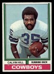 1974 Topps #95 ONE Calvin Hill  Front Thumbnail