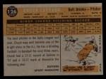 1960 Topps #126   -  Chuck Estrada Rookie Star Back Thumbnail