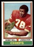 1974 Topps #59  Bobby Bell  Front Thumbnail