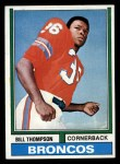 1974 Topps #166  Bill Thompson  Front Thumbnail